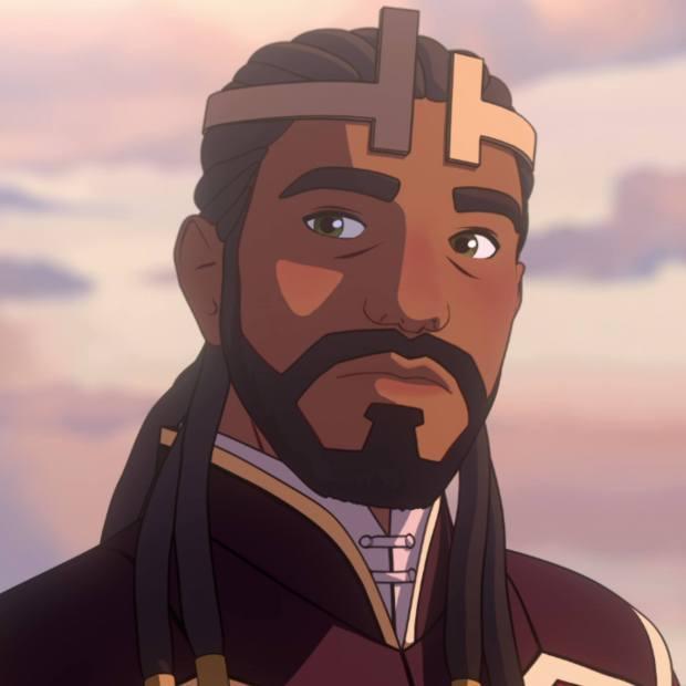King Harrow The Dragon Prince PC Netflix