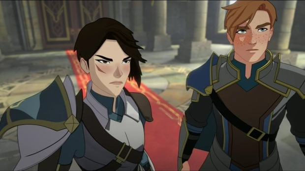 General Amaya and Commander Gren The Dragon Prince PC Netflix